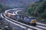 Eastbound CSX freight
